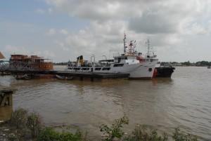 Yangon river Pansodan Jety3