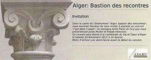 Alger Bastion des rencontres - Copie